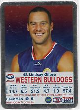 2009 TeamCoach SILVER (DYK) (48) Lindsay GILBEE Western Bulldogs