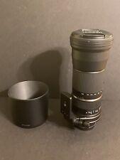 TAMRON A011E SP 150-600mm f/5-6.3 Di VC USD TELEPHOTO ZOOM LENS for CANON DSLR