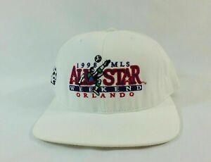 VTG 1998 MLS SOCCER ALL STAR WEEKEND ORLANDO VINTAGE RARE Cap Hat NEW