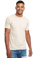 Marky G N6210 2-Pack Men's CVC Crew-Neck Short Sleeve T-Shirt Cream Size Medium