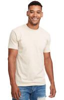 Marky G N6210 2-Pack Men's CVC Crew-Neck Short Sleeve T-Shirt Cream Size Medium