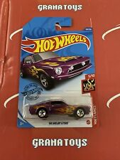 68 Shelby Gt500 #169 Purple Flames 5/10 2020 Hot Wheels Case P
