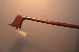 Interesting old violin bow. Fine Pernambuco