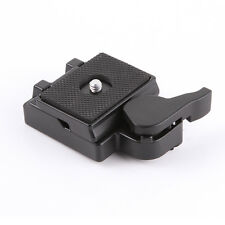 "US 1/4"" Quick Release Clamp Adapter Plate for Manfrotto 200PL-14 323 RC2 System"