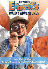 Ernest's Wacky Adventures DVD, Jim Varney, None