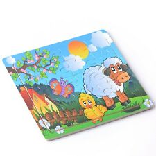 20pcs Farm Puzzles Jigsaws Toddler Kids Child Early Learning Toys Educational