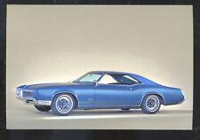 1966 BUICK RIVIERA CAR DEALER ADVERTISING POSTCARD COPY '66 BUICK CARS