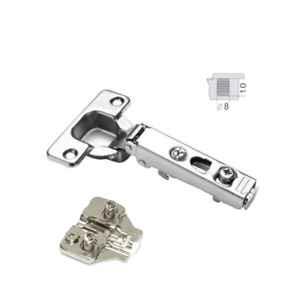 110 Soft Close DTC Hinge, 35mm Cup For Cabinet Doors, Hinge & Euro Adj Plate