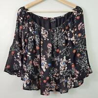 BARDOT | Womens Floral Print Blouse Top [ Size AU 14 or US 10 ]