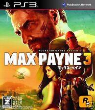 Used PS3 Max Payne 3 SONY PLAYSTATION 3 JAPAN JAPANESE IMPORT