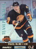 1992-93 Pinnacle Team Pinnacle #4 Kevin Stevens/Pavel Bure - NM-MT