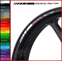 8 x Honda VTR Racing Wheel Rim Decals Stickers - 20 colours - 1000 sp1 sp2 rc51