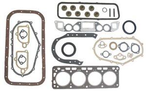 Nissan H20-2K forklift full gasket set head valve cover oil pan intake 1-pc rear