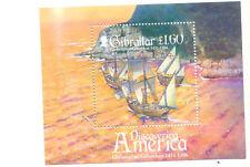 Ships, Boats Sheet Gibraltarian Stamps