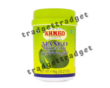 Ahmed Foods Mango Lime Chilli Mixed Garlic Spicy Asian Pickle Achaar Jar 1 kg