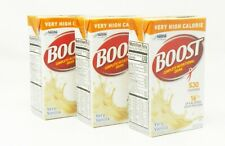 Nestle 18216 Boost Complete Nutritional Drink VHC Vanilla EXP 4/8/21 QTY 27