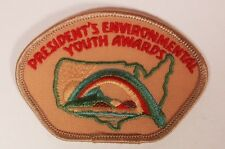 Vintage Early 1980s BSA Boy Scout President's Enviornmental Youth Award Patch