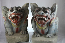 Paar Singha Lion , Bali Figur  ,   Indonesien