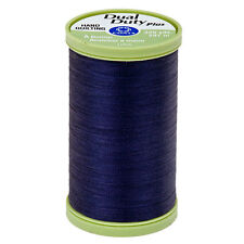 S960-4900~COATS CLARK COTTON WRAPPED POLY HAND QUILTING THREAD~NAVY BLUE~325 YDS