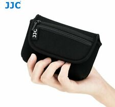 JJC OC-R1BK neoprene Compact Camera Pouch Bag fit camera lens up to 113x66x39mm