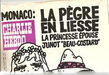Charlie-Hebdo N° 397 ,1978,Monaco;La Pègre en liesse. 20 pages.