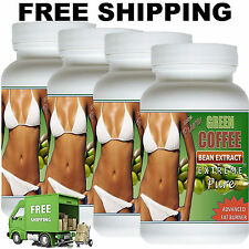 4X Pure Green Coffee Bean Extract 800 50% Chlorogenic Acid Weight loss diet New