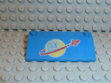 LEGO® Space Classic 3939p91 3x6x1 blue blau Space Logo groß 497 918 924 928 K295