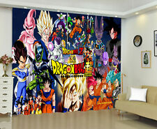 Dragon Ball Z 1 Panel Window Panels Digital Print Window Curtains Bedroom Drape