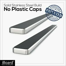 APS iBoard Running Boards 5 inches Fit 11-20 Dodge Grand Caravan& 11-16 Town Co