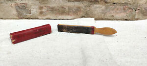 1930 Vintage Rare The Albert Cushion Razor Strop 6. Germany Grooming Collectable