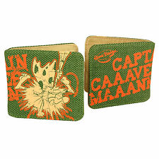 Captain Caveman Wallet. TV Cartoon Gift Cool Cash Cards Purse Money Smart Trendy