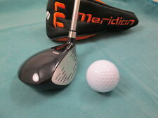 New Meridian Golf Stainless Steel junior flex 3 wood & headcover - 5 to 7 years