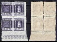 #529 - Repubblica - Coppia marche da bollo Contratti di borsa, 1957 - Nuovi (**)
