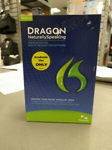 Nuance Dragon NaturallySpeaking Premium Version 12 - Academic Edition
