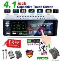 1DIN AUTORADIO RDS AM/FM BLUETOOTH FREISPRECHEINRICHTUNG 2 X USB SD AUX-IN MP3