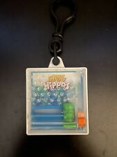 Hungry Hippos Game 1999 Hasbro Inc Wendy's Promo Pocket Game with Keychain Clip