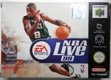 Nba Live 99 Nintendo 64 PAL Version Complet