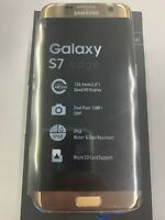 Samsung Galaxy S7 Edge SM-G935 - 32GB Gold Platinum (AT&T) Unlocked Smartphone