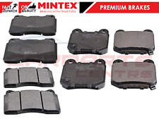 FOR SUBARU IMPREZA WRX STI GDB 2001-2007 MINTEX  FRONT AND REAR BRAKE PADS
