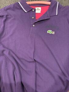 Lacoste Size 8 Short Sleeve Cotton Polo Shirt