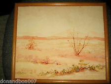 """Vntg. California Artist C.R. Walling/Watercolor Painting/Signed/10"""" x 12"""" c.1941"""