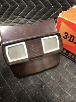 Vintage Batman face Sawyer's View-Master 3-Dimension Viewer Model E with Box