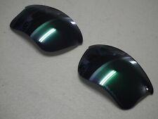 Authentic Oakley Flak Jacket XLJ Polarized Jade Iridium Replacement Lenses