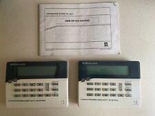 (2) Two - Napco Gemini Custom Alphanumeric 32 Character Keypads. Gem-Rp1Cae2