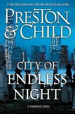 Agent Pendergast: City of Endless Night by Douglas Preston & Lincoln Ch 01/16/18