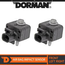 2x Dorman 590-222 Front Left & Right Air Bag Impact Sensor