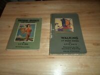 @@ 2 BOOK'S WALKING AT WEEKENDS, SOUTHERN RABLES FOR LONDONERS S P B MAIS VGC @@