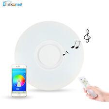LED Deckenleuchte Bluetooth Lautsprecher Musik Deckenlampe Sternenhimmel 36W