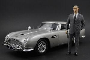 Sean Connery James Bond Figure pour 1:18 AUTOart AstonMartin DBS Vanquish NO CAR