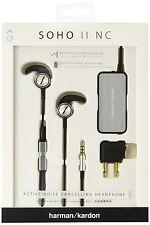 Harman Kardon Soho II NC Active Noise Canceling In-Ear Headphones